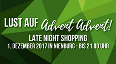 Latenightshopping im Advent