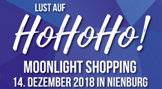 Moonlight Shopping in Nienburg